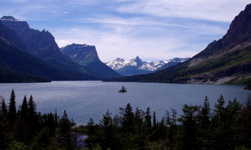St Mary Lake Glacier Park