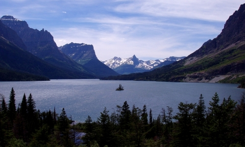 St Mary Lake Montana Fishing Camping Boating Alltrips