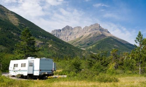 Glacier Park Camping