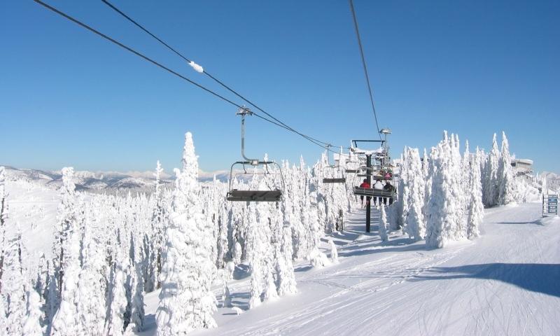 Skiing at Big Mountain in Whitefish