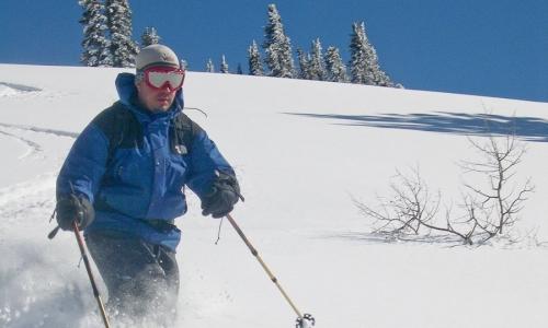 Glacier Park Backcountry Skiing