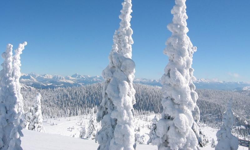 Whitefish Montana Big Mountain Resort Winter