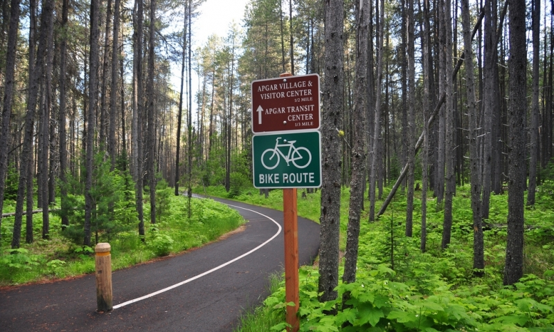 Glacier National Park Biking