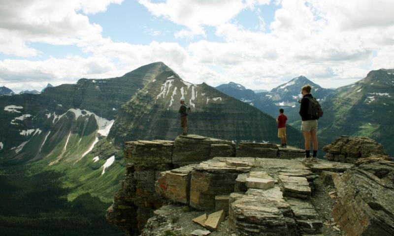 Glacier National Park Montana Hiking Backpacking Dawson Pass Trail