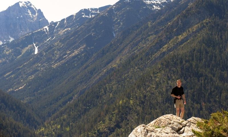 Waterton Lakes National Park Glacier Bears Hump Hiking Trail