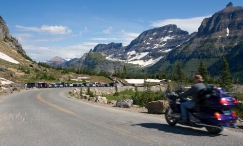Glacier Park Motorcycle Tour