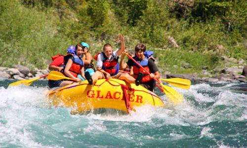 Glacier National Park White Water Rafting Whitewater