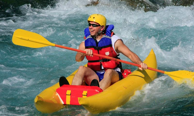 Whitewater Rafting the Flathead River near Glacier National Park