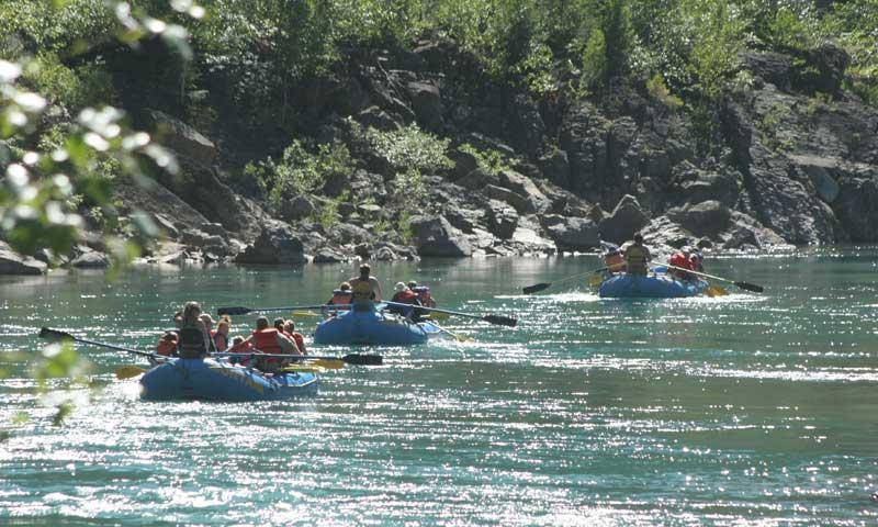 Rafting the Flathead River