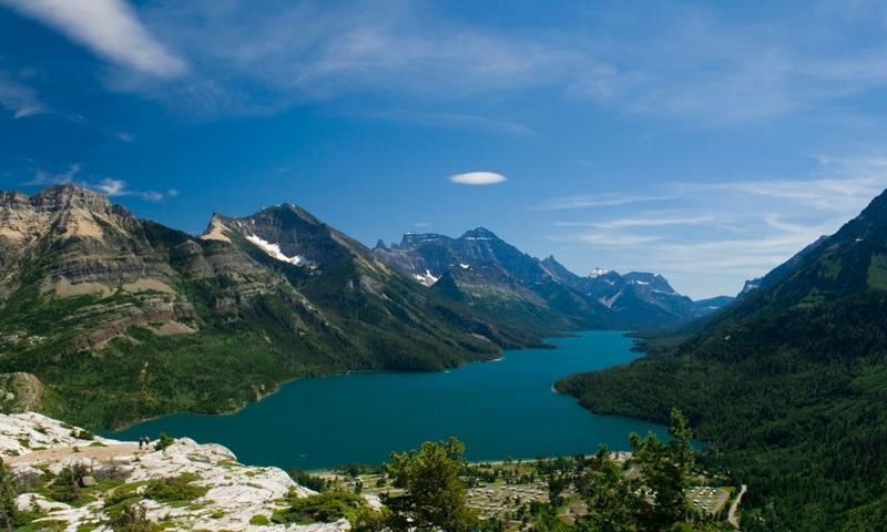 Waterton Lakes National Park Glacier